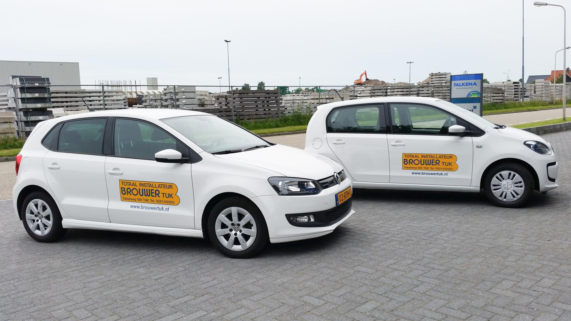 Autobelettering Steenwijk