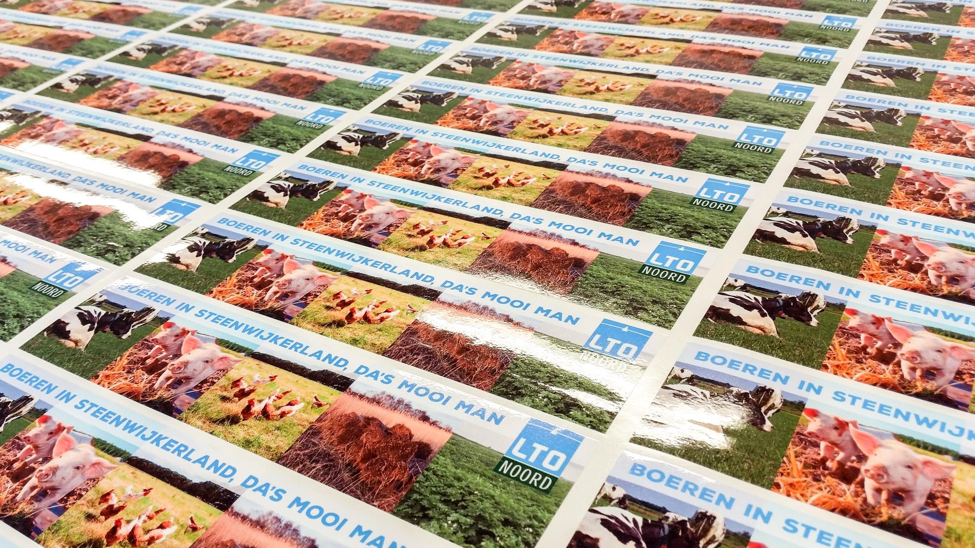 Stickers Steenwijk