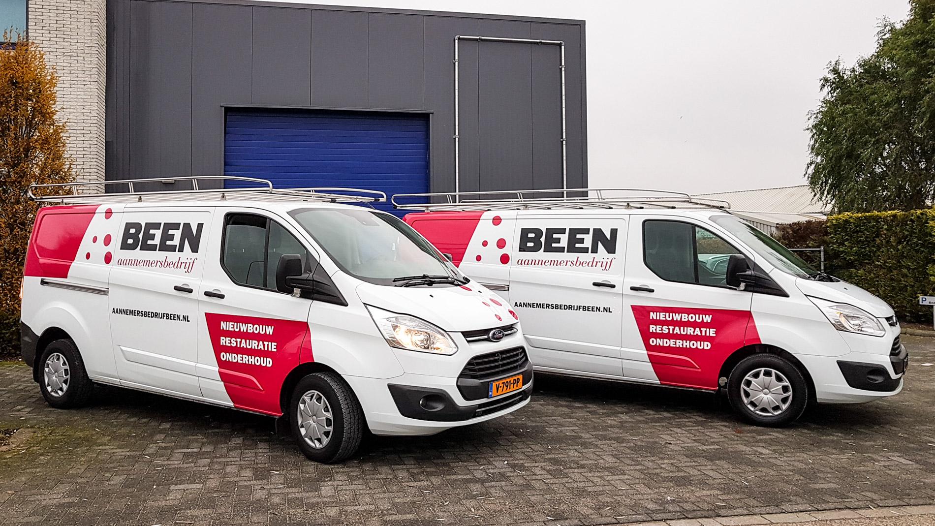 Bus belettering Been - Van de Riet Reclame